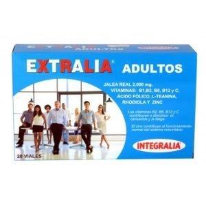 EXTRALIA ADULTOS INTEGRALIA Envase de 20 ampollas