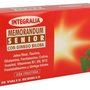 JALEA MEMORANDUM SENIOR INTEGRALIA Envase 20 ampollas