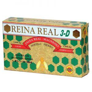 REINA REAL 3-D ROBIS 20 viales