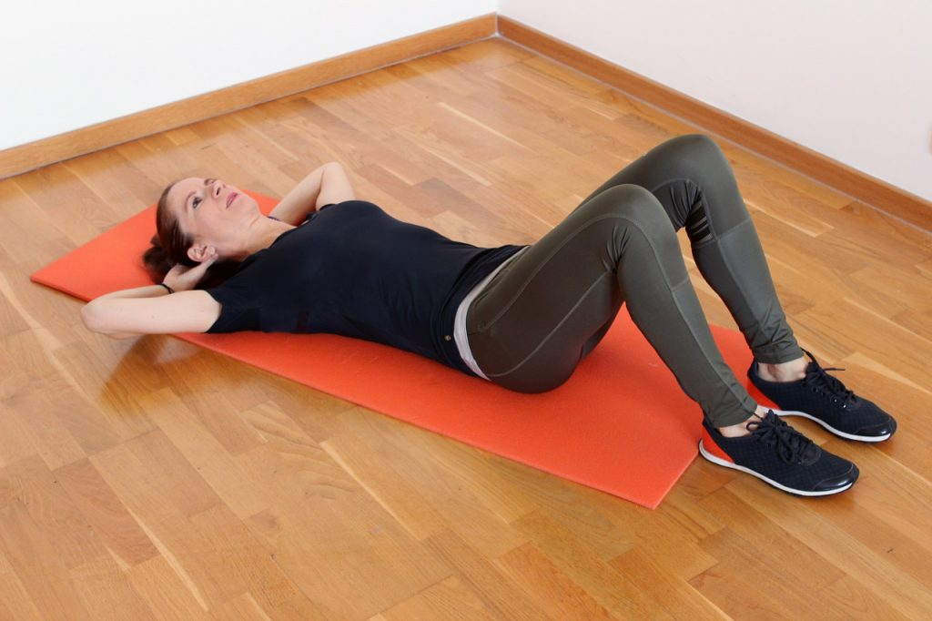 como hacer una abdominal