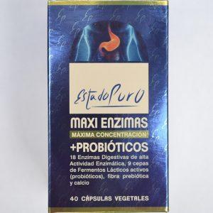 Maxienzimas con probióticos